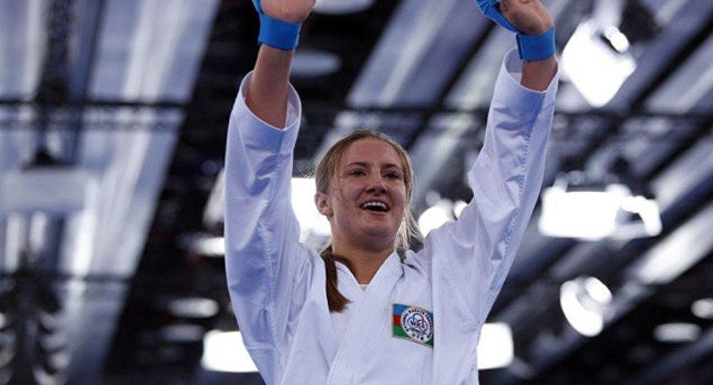 İrina Zaretska-karate