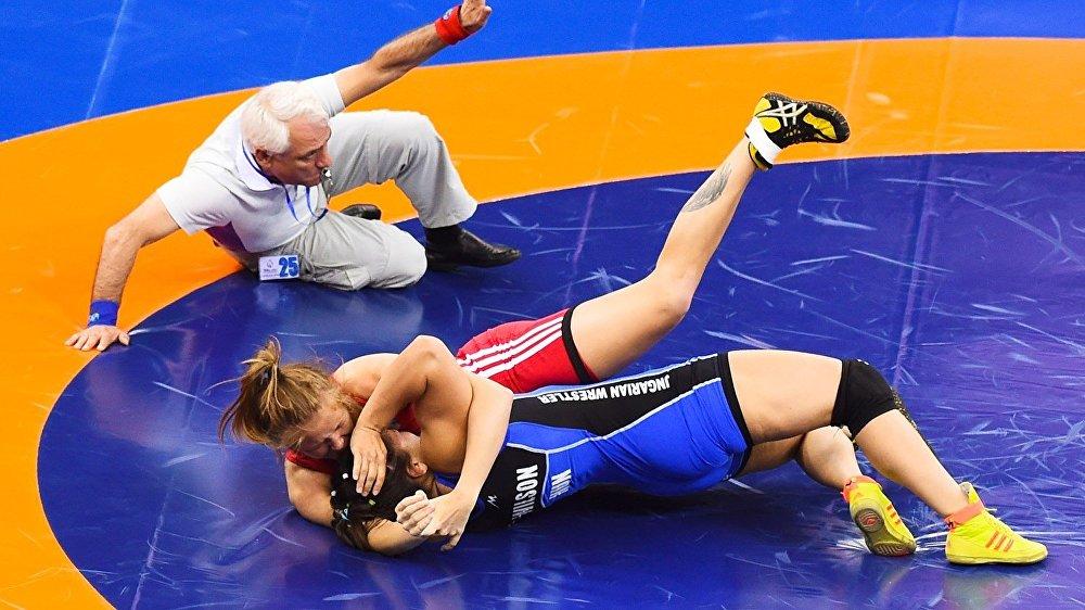 Евроигры Баку Борьба