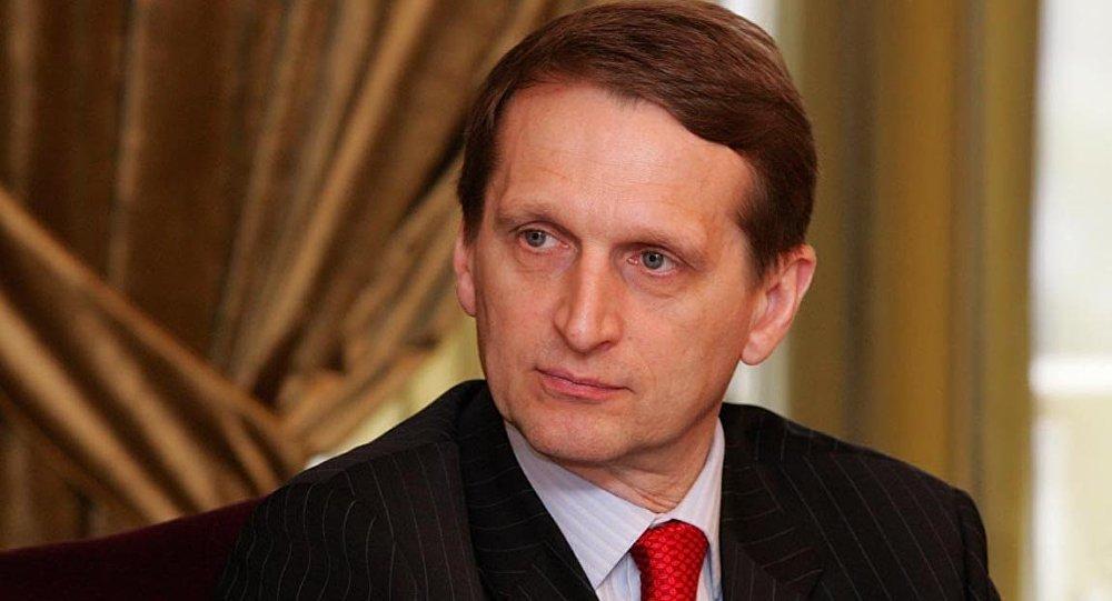 Sergey Narışkin - Rusiya Dövlət Dumasının sədri