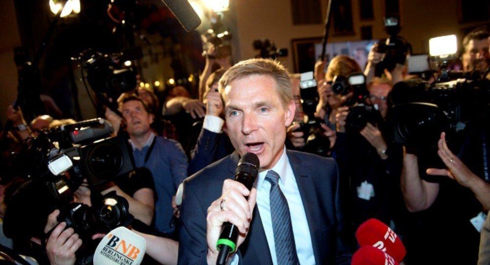 Danimarka sağçılarının lideri Kristian Dal