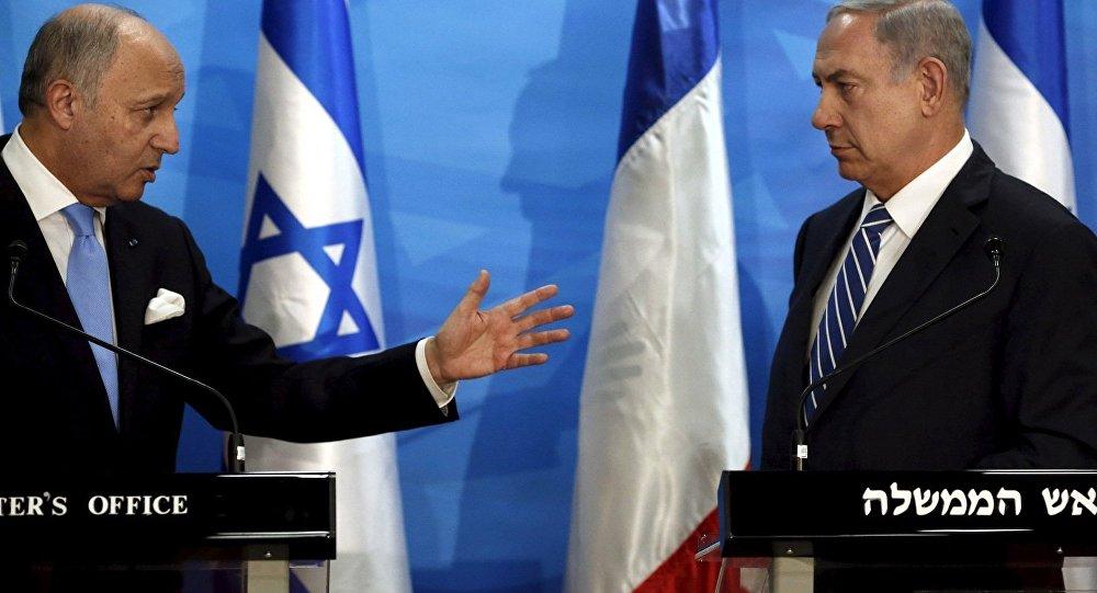 Loran Fabius - Benyamin Netanyahu