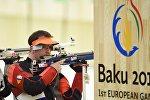 Первые Европейские игры - Соревнования по стрельбе