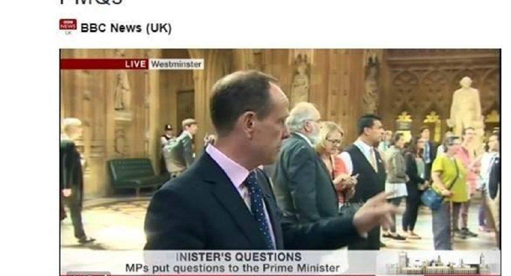 Инвалиды-активисты ворвались в здание парламента Великобритании