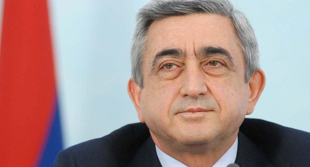 Serj Sərkisyan - Ermənsitan prezidenti