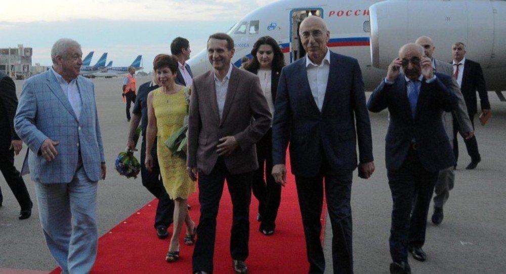 Sergey Narışkinin Bakıya səfəri