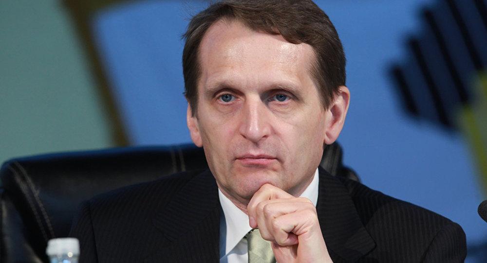 Глава Администрации президента РФ Сергей Нарышкин