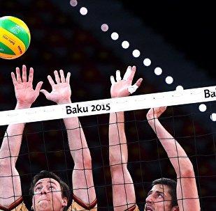 Евроигры: встречи по волейболу