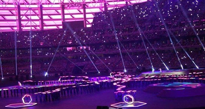 Торжественное закрытие Евроигр – Бакинский олимпийский стадион