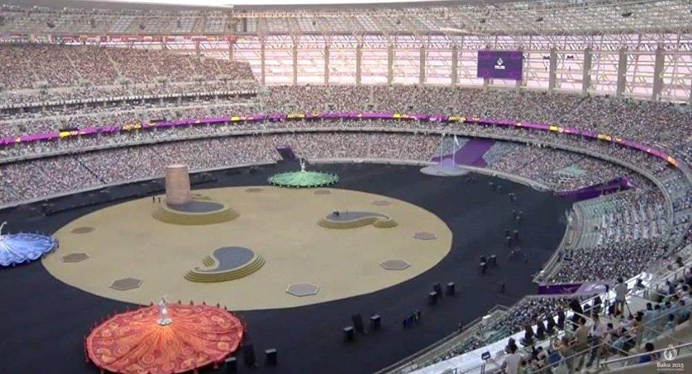 Avropa Oyunlarının bağlanış mərasimi