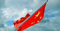 The flag of China