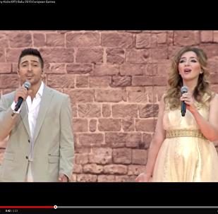 Гимн Азербайджана в исполнении азербайджанских звезд