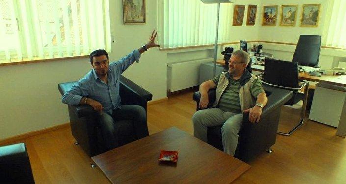 Fəxrəddin Hacıyev və alman mer -5