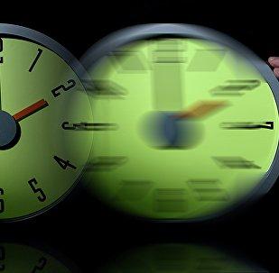 Переход времени, часы