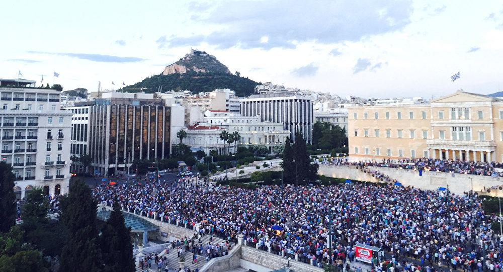 Yunanıstanda etirazlar