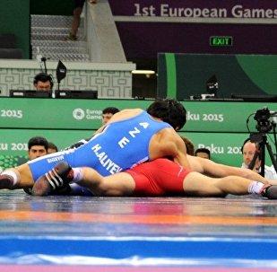 Гасан Алиев, греко-римская борьба (66 кг) - бронза