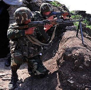 ВС Армении обстреляли азербайджанские позиции