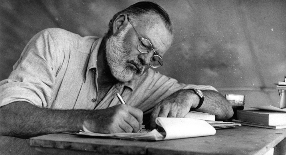 a biography of ernest hemingway an american novelist and short story writer The first full biography of ernest hemingway in living american novelist and short-story writer book ernest hemingway a biography was like.