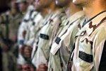 солдаты ВС Азербайджана