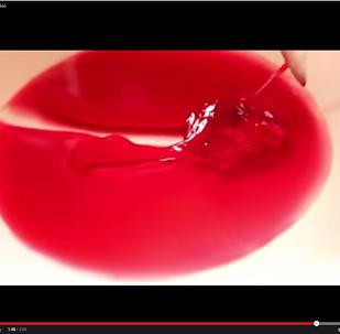 Молекулярная гастрономия: Гранатовое желе по непривычному рецепту