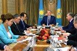 Qazaxıstan hökumətinin iclası