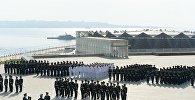 Выпуск курсантов Академии Государственной пограничной службы Азербайджана