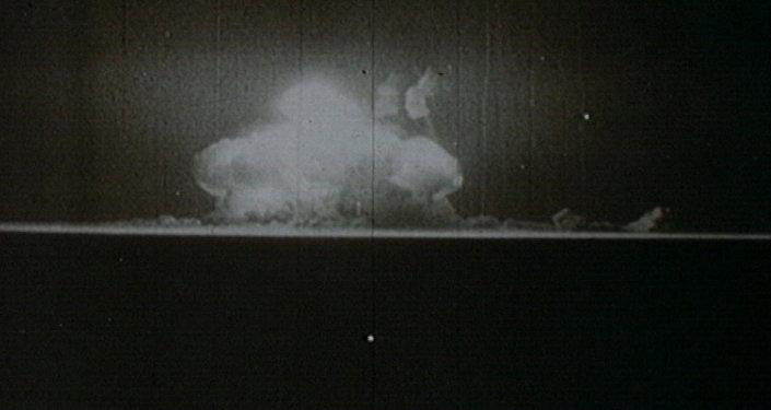 Начало ядерного века. Первая американская атомная бомба в архивных кадрах
