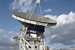 Радиотелескоп-22 (РТ-22) на научной станции в Пущино