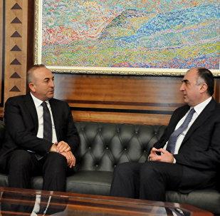 Главы МИД Турции и Азербайджана