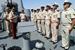 Министр обороны Азербайджана на новой базе ВМС