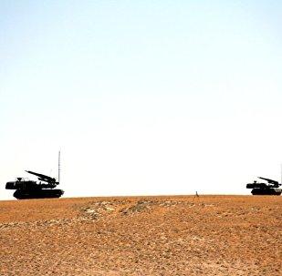 Как ПВО ВВС Азербайджана уничтожают условные цели врага