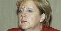 Канцлер ФРГ А.Меркель на встрече с бизнесменами в Екатеринбург