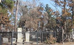 На Ясамальском кладбище произошел пожар