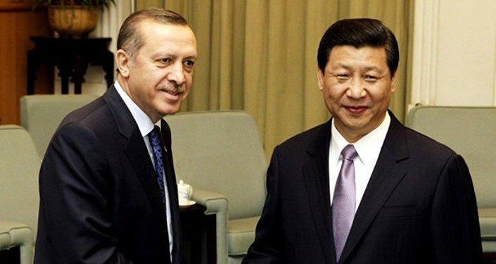 Президент Турции Реджеп Тайип Эрдоган и председател КНР Си Цзиньпин