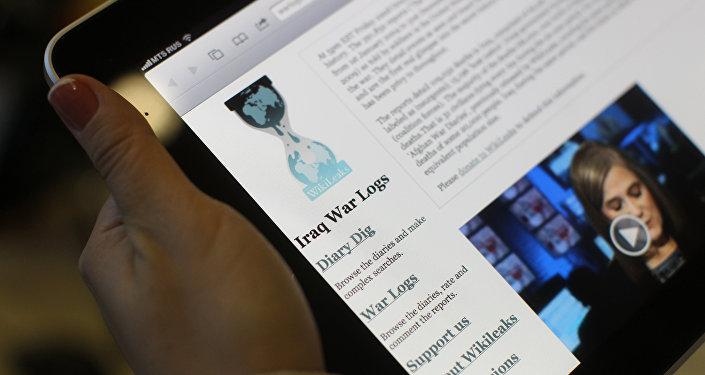 Пользователи интернета читают сайт WikiLeaks. Архивное фото