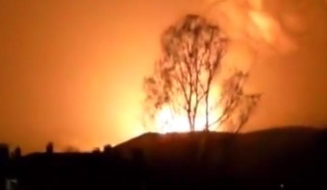 взрыв на трубопроводе Баку-Эрзерум
