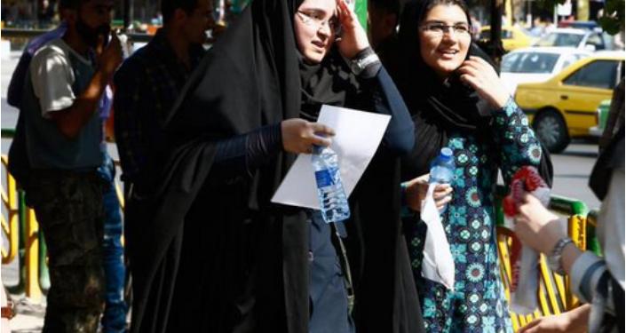 Жара в Иране