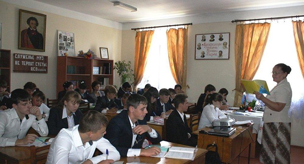 Ивановская средняя школа Исмаиллинского района Азербайджана