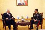Встреча Закира Гасанова и Анджея Каспшика