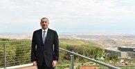 Ильхам Алиев принял участие в открытии лечебного комплекса отдыха в Шабранском районе