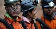 китайские шахтеры