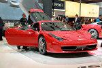 Автомобиль Ferrari на международном Пекинском автосалоне Auto China-2010