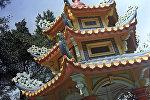 Китайский домик в парке Гонконга