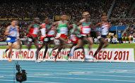 Легкая атлетика. Чемпионат мира. Девятый день. Бег на 5000 м