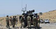 Турецкая армия в поисках террористов РПК