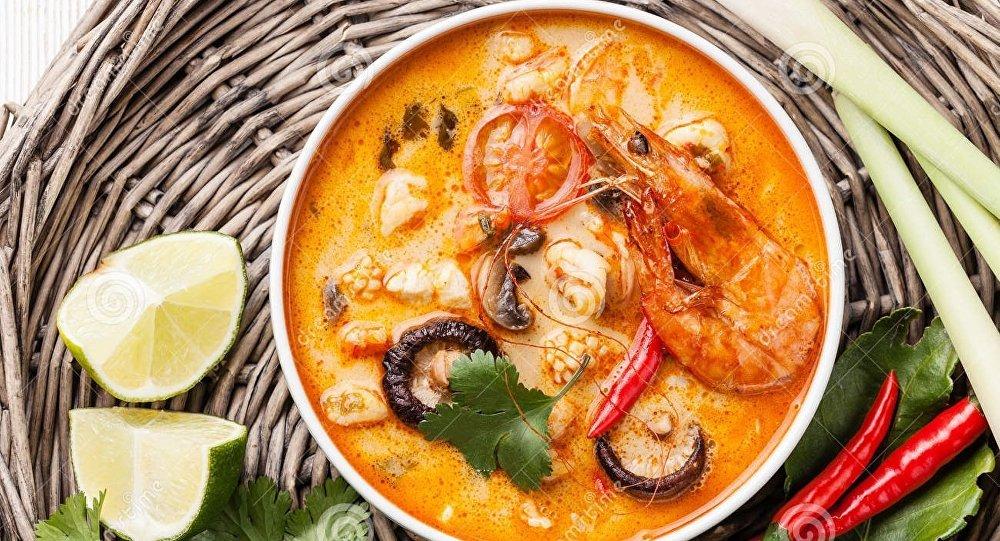 Рецепт супа том ям с морепродуктами