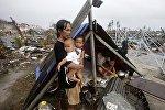 Filippində tüğyan edən güclü Qoni qasırğası