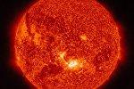 NASA опубликовала снимок солнечной вспышки
