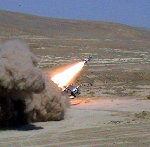 Cилы ПВО Азербайджана выполнили практические и боевые стрельбы.