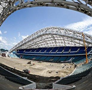 Реконструкция стадиона Фишт к ЧМ-2018