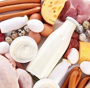 мясо и молочные продукты